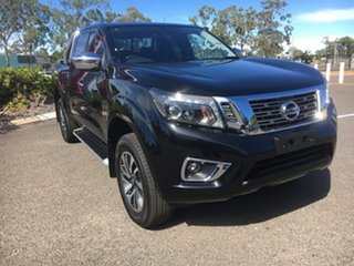 2019 Nissan Navara D23 S3 ST-X King Cab Black 7 Speed Sports Automatic Utility.