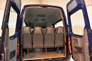 2016 Volkswagen Crafter 2EH1 MY16 35 TDI 340 LWB Blue 6 Speed Manual Van