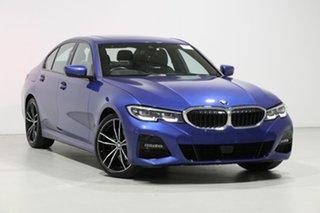 2019 BMW 320d F30 LCI M Sport Portimao Blue 8 Speed Auto Steptronic Sport Sedan.