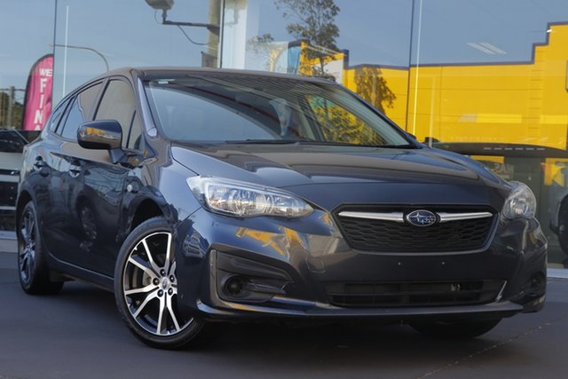 Used Subaru Impreza G5 MY17 2.0i CVT AWD, 2017 Subaru Impreza G5 MY17 2.0i CVT AWD Grey 7 Speed Constant Variable Hatchback