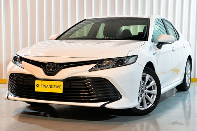 Used Toyota Camry AXVH71R Ascent, 2019 Toyota Camry AXVH71R Ascent White 6 Speed Constant Variable Sedan Hybrid