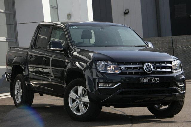 Demo Volkswagen Amarok 2H MY20 TDI550 4MOTION Perm Sportline, 2019 Volkswagen Amarok 2H MY20 TDI550 4MOTION Perm Sportline Blue 8 Speed Automatic Utility