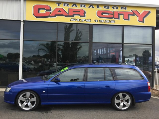 Used Holden Commodore VZ MY06 SVZ, 2006 Holden Commodore VZ MY06 SVZ Blue 4 Speed Automatic Wagon
