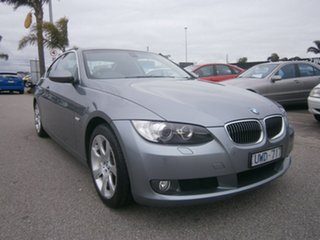 2007 BMW 3 Series E92 325i Steptronic Grey 6 Speed Sports Automatic Coupe.