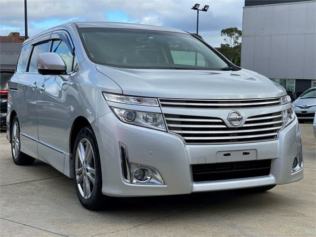 Used Nissan Elgrand PE52 Highway Star Premium Silverwater, 2010 Nissan Elgrand PE52 Highway Star Premium Silver Constant Variable Wagon