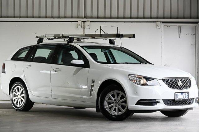 Used Holden Commodore VF MY15 Evoke Sportwagon, 2015 Holden Commodore VF MY15 Evoke Sportwagon White 6 Speed Sports Automatic Wagon