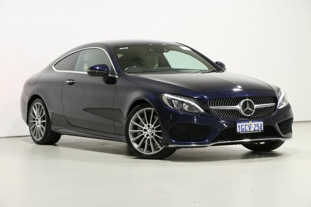 Used Mercedes-Benz C250 205 MY16 D, 2016 Mercedes-Benz C250 205 MY16 D Blue 9 Speed Automatic Coupe
