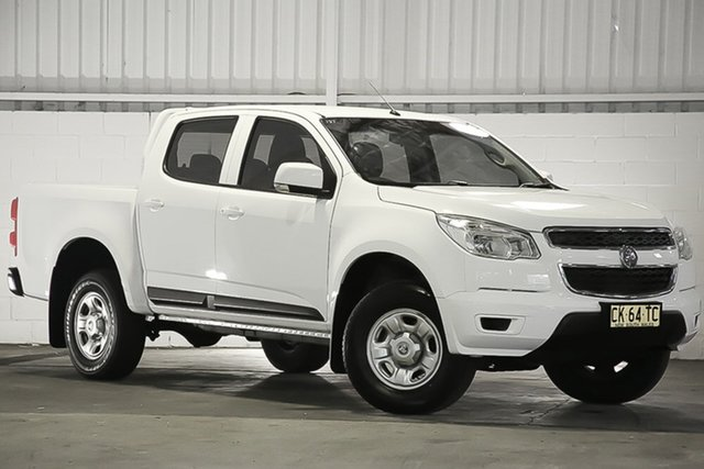 Used Holden Colorado RG MY16 LS Crew Cab 4x2, 2016 Holden Colorado RG MY16 LS Crew Cab 4x2 White 6 Speed Sports Automatic Utility