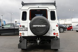 2013 Land Rover Defender 90 13MY White 6 Speed Manual Wagon