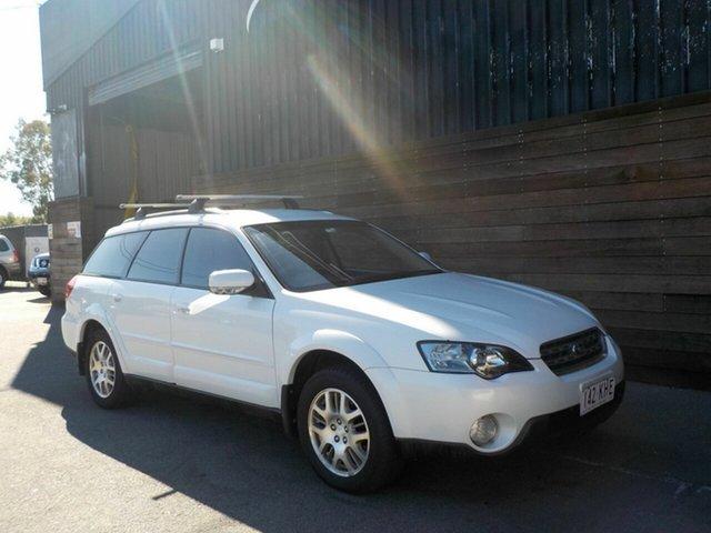 Used Subaru Outback B4A MY04 AWD, 2003 Subaru Outback B4A MY04 AWD White 4 Speed Sports Automatic Wagon