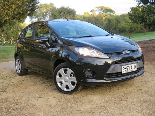 Used Ford Fiesta WT CL PwrShift, 2012 Ford Fiesta WT CL PwrShift Black 6 Speed Sports Automatic Dual Clutch Hatchback