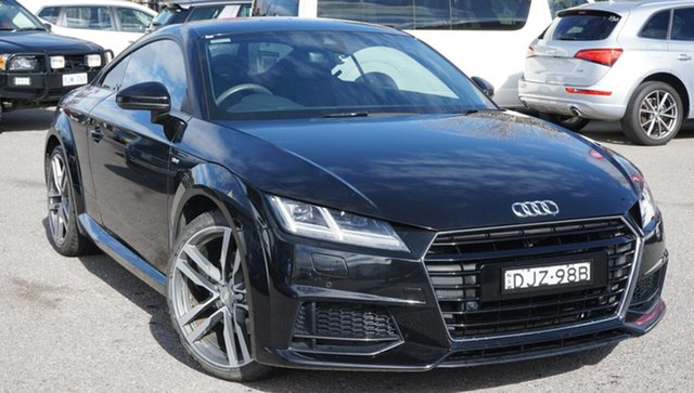 Used Audi TT FV MY16 S Line S Tronic, 2016 Audi TT FV MY16 S Line S Tronic Black 6 Speed Sports Automatic Dual Clutch Coupe