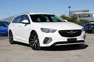 2018 Holden Commodore ZB MY18 RS Sportwagon White 9 Speed Sports Automatic Wagon.