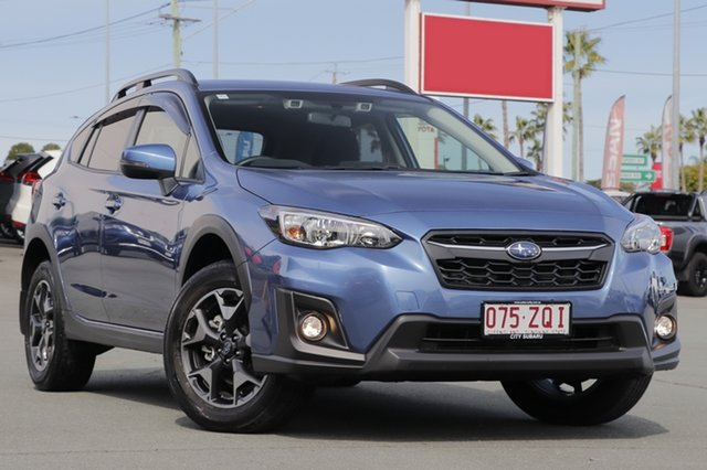 Demo Subaru XV G5X MY20 2.0i Premium Lineartronic AWD, 2020 Subaru XV G5X MY20 2.0i Premium Lineartronic AWD Quartz Blue 7 Speed Constant Variable Wagon