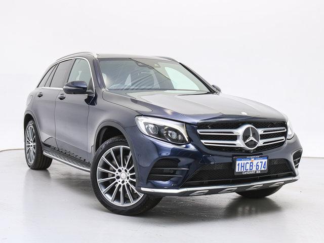 Used Mercedes-Benz GLC250 253 , 2016 Mercedes-Benz GLC250 253 Cavansite Blue 9 Speed Automatic Wagon