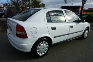 2004 Holden Astra TS Classic White 4 Speed Automatic Sedan