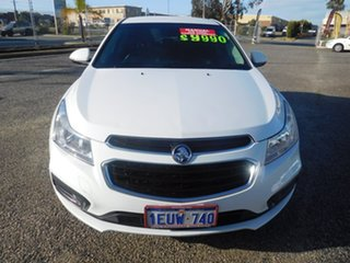 2015 Holden Cruze JH Series II MY15 Equipe White 5 Speed Manual Sedan