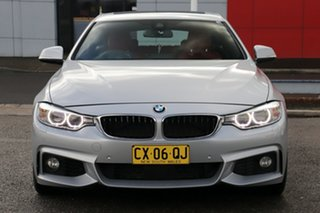 2016 BMW 430i F36 M Sport Gran Coupe Silver 8 Speed Sports Automatic Hatchback