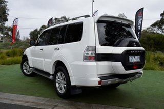 2016 Mitsubishi Pajero NX MY16 GLX White 5 Speed Sports Automatic Wagon.
