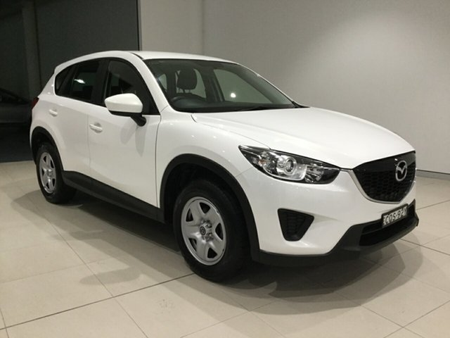 Used Mazda CX-5 KE1071 MY13 Maxx SKYACTIV-MT, 2013 Mazda CX-5 KE1071 MY13 Maxx SKYACTIV-MT White 6 Speed Manual Wagon
