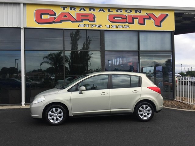 Used Nissan Tiida C11 MY07 ST, 2008 Nissan Tiida C11 MY07 ST Gold 6 Speed Manual Hatchback