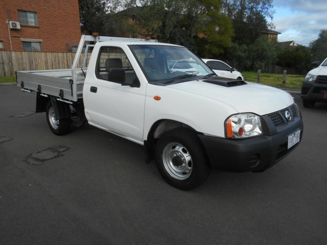 Used Nissan Navara D22 Series 5 DX (4x2), 2013 Nissan Navara D22 Series 5 DX (4x2) White 5 Speed Manual Cab Chassis