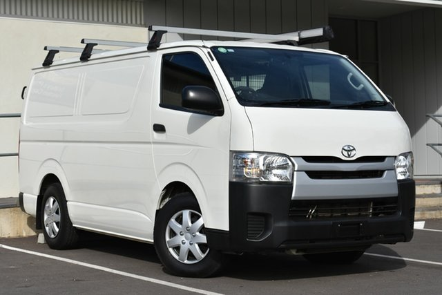 Used Toyota HiAce KDH201R LWB, 2015 Toyota HiAce KDH201R LWB White 5 Speed Manual Van