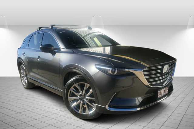 Used Mazda CX-9 TC Azami SKYACTIV-Drive, 2016 Mazda CX-9 TC Azami SKYACTIV-Drive Grey 6 Speed Sports Automatic Wagon
