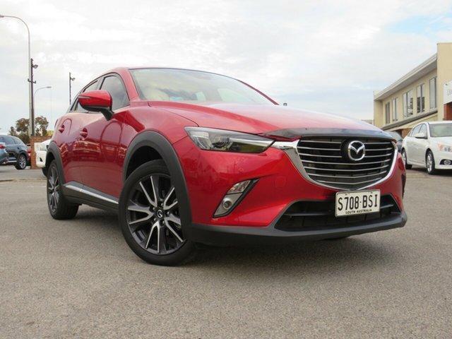 Used Mazda CX-3 DK2W7A Akari SKYACTIV-Drive, 2017 Mazda CX-3 DK2W7A Akari SKYACTIV-Drive Red 6 Speed Sports Automatic Wagon