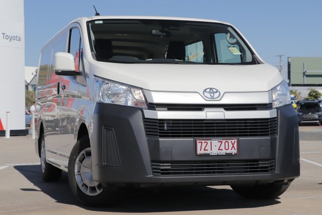 Demo Toyota HiAce GDH300R LWB, 2019 Toyota HiAce GDH300R LWB French Vanilla 6 Speed Manual Van