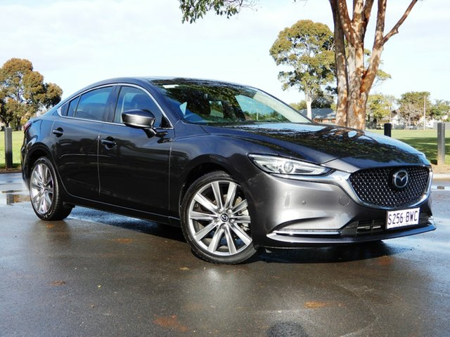 Used Mazda 6 GL1032 GT SKYACTIV-Drive, 2018 Mazda 6 GL1032 GT SKYACTIV-Drive Dark Grey 6 Speed Sports Automatic Sedan