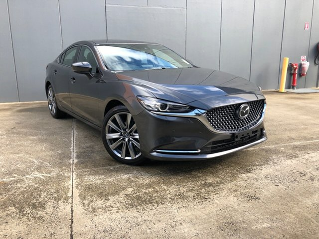 New Mazda 6 GL1033 Atenza SKYACTIV-Drive, 2020 Mazda 6 GL1033 Atenza SKYACTIV-Drive Machine Grey 6 Speed Sports Automatic Sedan