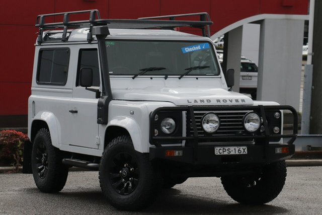 Used Land Rover Defender 90 13MY , 2013 Land Rover Defender 90 13MY White 6 Speed Manual Wagon