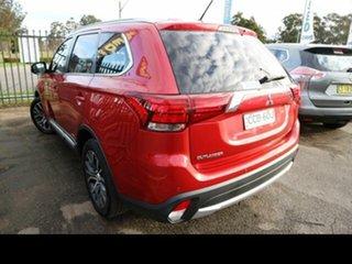 2015 Mitsubishi Outlander ZJ MY14.5 LS (4x4) Red Continuous Variable Wagon.