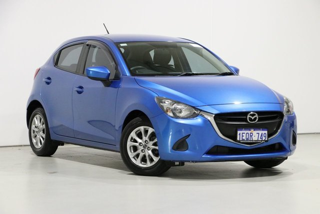 Used Mazda 2 DJ Maxx, 2014 Mazda 2 DJ Maxx Blue 6 Speed Manual Hatchback