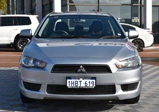2011 Mitsubishi Lancer CJ MY11 SX Silver 6 Speed Constant Variable Sedan