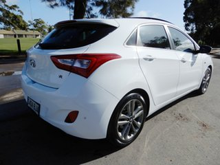 2015 Hyundai i30 GD3 Series II MY16 SR Premium White 6 Speed Manual Hatchback.