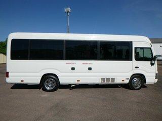 2017 Toyota Coaster XZB70R White Passenger Bus