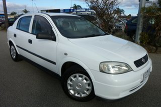 2004 Holden Astra TS Classic White 4 Speed Automatic Sedan.