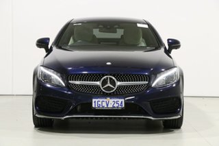 2016 Mercedes-Benz C250 205 MY16 D Blue 9 Speed Automatic Coupe.