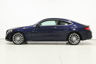 2016 Mercedes-Benz C250 205 MY16 D Blue 9 Speed Automatic Coupe