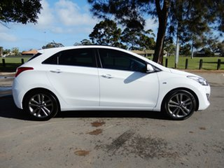 2015 Hyundai i30 GD3 Series II MY16 SR Premium White 6 Speed Manual Hatchback