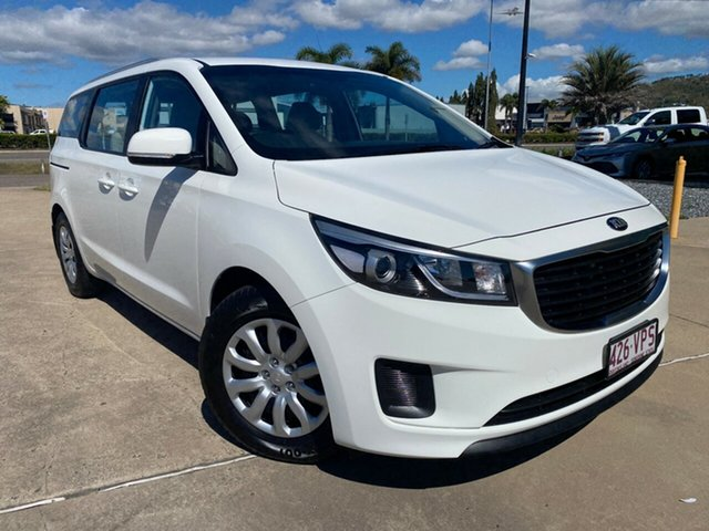 Used Kia Carnival YP MY15 S, 2015 Kia Carnival YP MY15 S White 6 Speed Sports Automatic Wagon