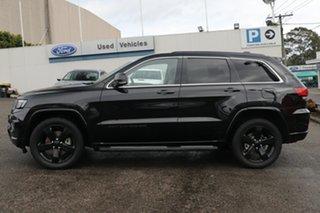 2015 Jeep Grand Cherokee WK MY15 Blackhawk Black 8 Speed Sports Automatic Wagon