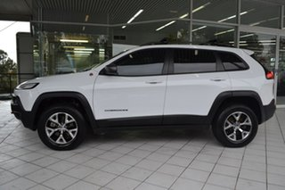 2014 Jeep Cherokee KL MY15 Trailhawk White 9 Speed Sports Automatic Wagon