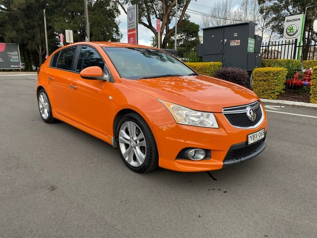 Used Holden Cruze JH Series II MY14 SRi-V, 2013 Holden Cruze JH Series II MY14 SRi-V Orange 6 Speed Manual Hatchback
