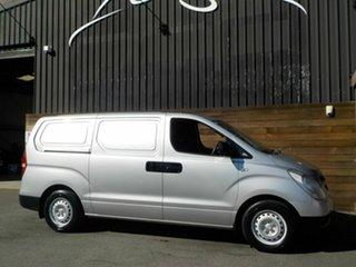 2009 Hyundai iLOAD TQ-V Crew Cab Silver 5 Speed Manual Van.