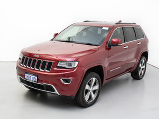 2016 Jeep Grand Cherokee WK MY15 Overland (4x4) Red 8 Speed Automatic Wagon