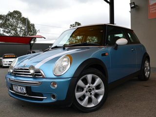 2004 Mini Hatch R50 MY05 Cooper Chilli Blue 6 Speed Constant Variable Hatchback