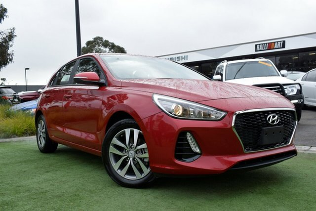 Used Hyundai i30 PD2 MY19 Active, 2018 Hyundai i30 PD2 MY19 Active Fiery Red 6 Speed Sports Automatic Hatchback